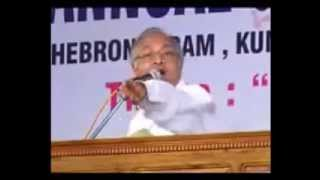 91st IPC KUMBANAD GENERAL CONVENTION 2015  Pastor T D Babu