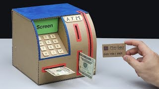 How to make Personal ATM Machine Cardboard thumbnail