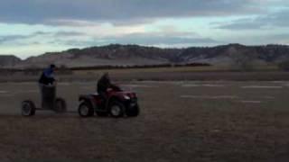 Nitro Circus Chariot Racing