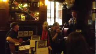 Billy Hickling And The Nathan Osgood Trio At The Two Brewers, London, October 2013