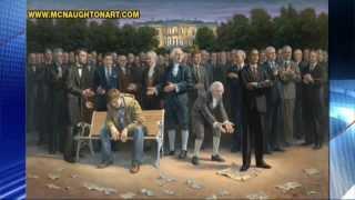 Artist Jon McNaughton Defends Controversial Barack Obama Paintings