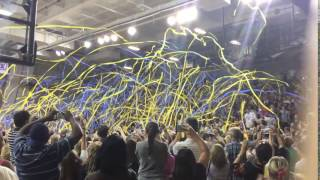 Streamers at Convocation