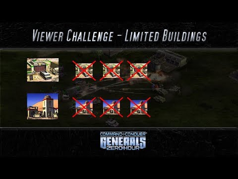[C&C Zero Hour] Limited Buildings - Viewer Challenge 0017