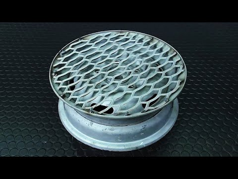 видео: Поворотный столик из автомобильного диска .