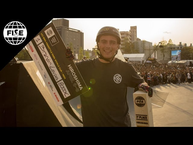 Brandon Loupos  | 1st Final UCI BMX Freestyle Park World Cup  - FISE Hiroshima 2018
