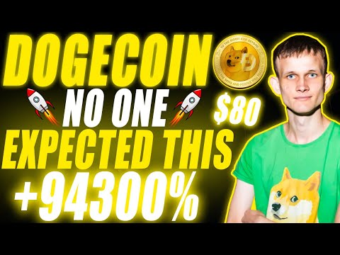 What Vitalik Buterin Just Did With Dogecoin U0026 Why DOGE Will Reach $80 (LATEST NEWS)