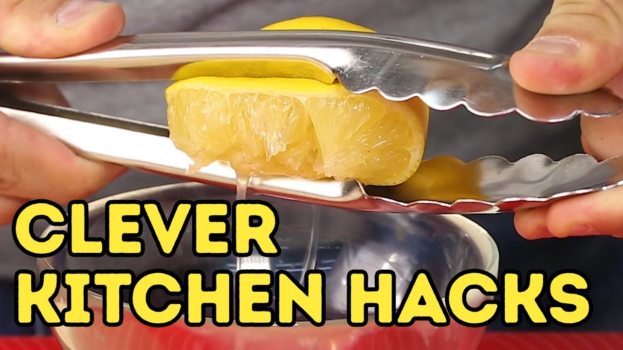 4 incredibly simple kitchen hacks l 5-MINUTE CRAFTS