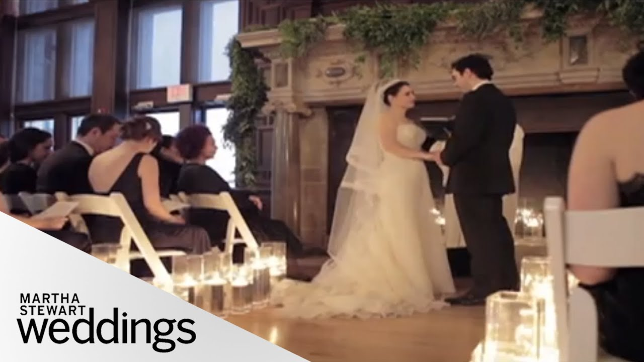 Real Weddings Youtube: Emily And Tolga's Real Winter Wedding