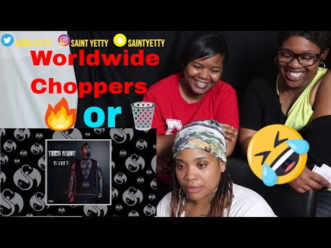 Mom reacts to Tech N9ne - Worldwide Choppers | Reaction Ft. J100 and Aunt