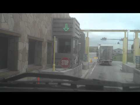 Going through Canadian border. Entering U S.