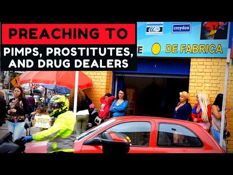 Preaching to Pimps, Prostitutes, and Drug Addicts in Bogota, Colombia
