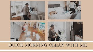 QUICK MORNING CLEAN WITH ME