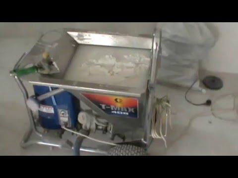 SEMIN SEM-JOINT COMPOUND и мех. нанесение Graco T-MAX 405