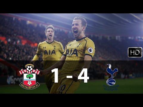 Southampton vs Tottenham Hotspur | 1 - 4 | All Goals & Highlights ||HD|| 28/12/16