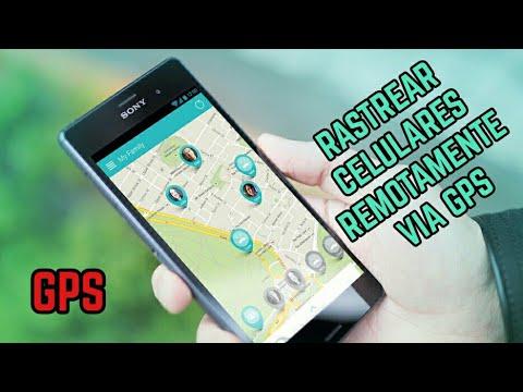 como rastrear un celular mediante el gps