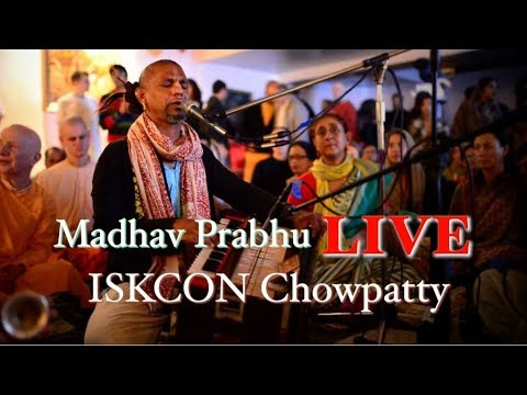 Madhava Prabhu Live from ISKCON Chowpatty, Mumbai on 3rd Feb 2018