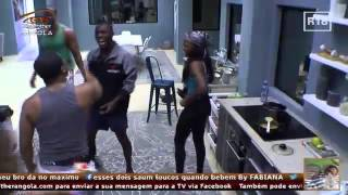 Big Brother Angola- Larama que dar uma surra a Rui