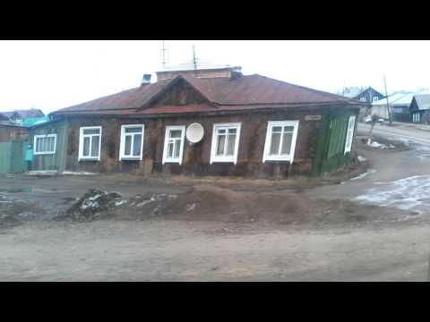 [Автобусофап] Енисейск - Ул.Ленина (18.04.2017)