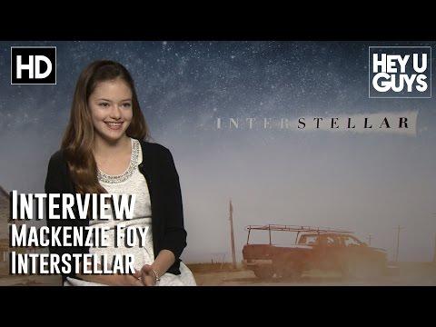 Mackenzie Foy Interview - Interstellar