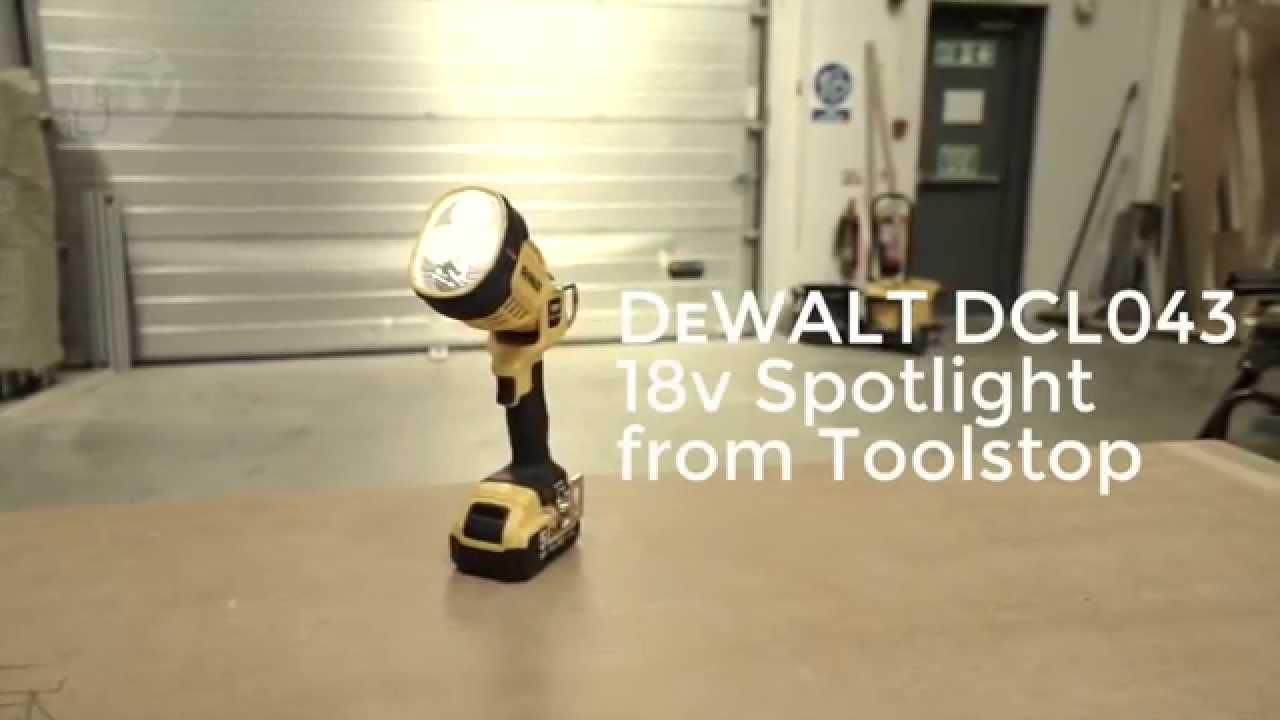 Dewalt Dcl043 Xr Cordless Led Spotlight From Toolstop