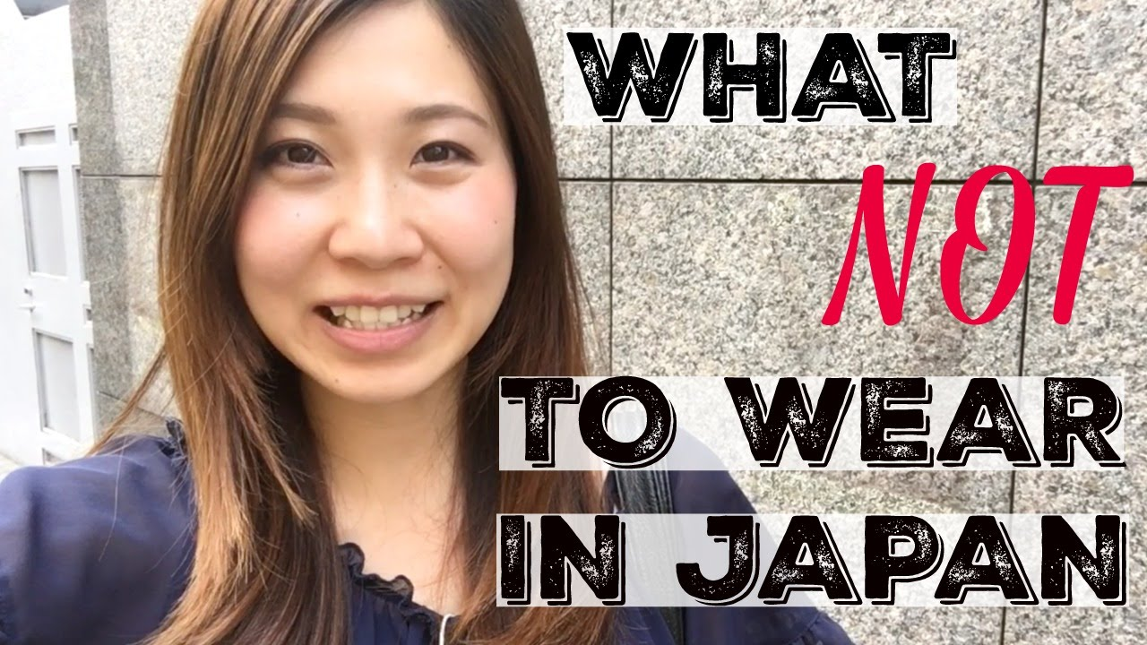 What Not To Wear In Japan: Clothes To Avoid Wearing In Japan   Ȩ�日外国人に服装についてのアドバイス