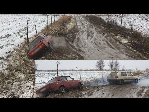 Lada winter DRIFT & VOLKSWAGEN