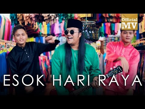 Harry ft. Sheryl Shazwanie - Esok Hari Raya (Official Music Video)