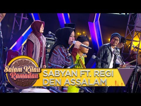 GA NYANGKA! Anak Jago Main Suling SABYAN FT. REGI DEN ASSALAM - Salam Kilau Ramadhan (5/5)