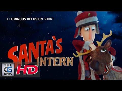 "CGI 3D Animated Short: ""Santa""s Intern""  - by Luminous Delusion"