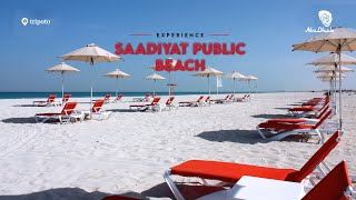 The Pristine Saadiyat Public Beach In Abu Dhabi   Tripoto