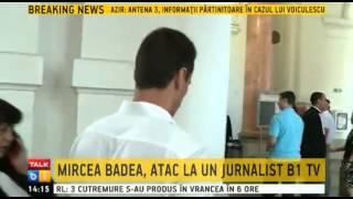 Mircea Badea, atac la un jurnalist B1 TV