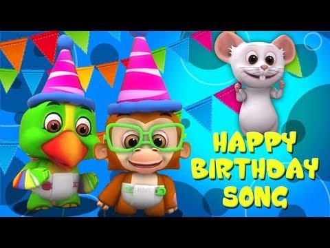 Piosenka Z Okazji Urodzin | Piosenka Dla Dzieci | Rymowanek | Happy Birthday Song | Little Treehouse