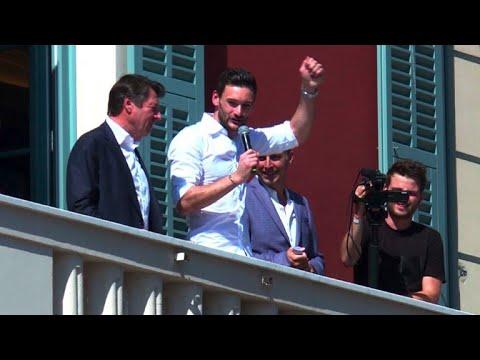 Lloris à Nice: le capitaine des Bleus acclamé dans sa ville