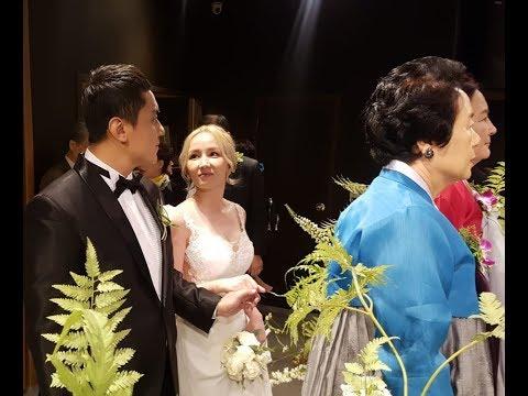 Свадьба в Корее.  Реакция моих родителей. Корейско - казахская свадьба.