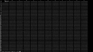 réécriture d'excel en 250 lignes de code gforth impressionnant