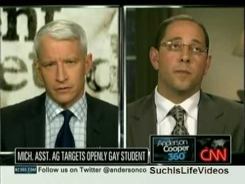 AC360 - Mich. Asst. Attorney General Andrew Shirvell Targets Gay Student Chris Armstrong - Pt. 1