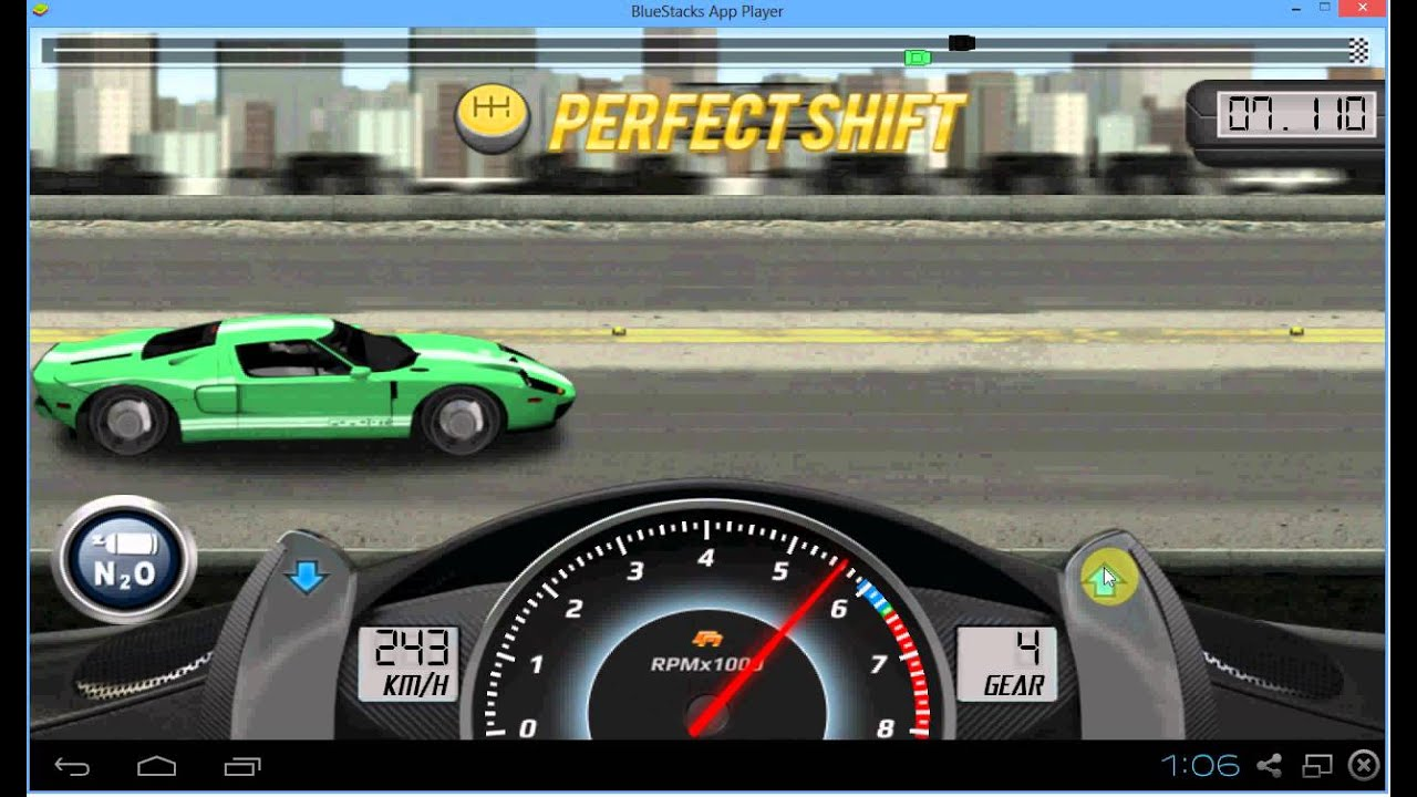 Drag Racing Ford Gt Level    Mile