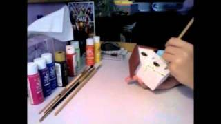 How To: Paint A Birdhouse