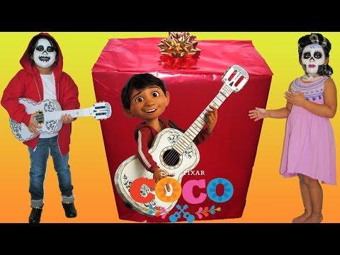 Disney Pixar Coco Makeup Makeover...