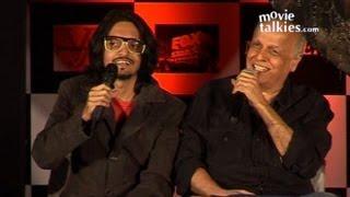 Vishesh Bhatt And Mahesh Bhatt At 'Murder 3' First Look Launch