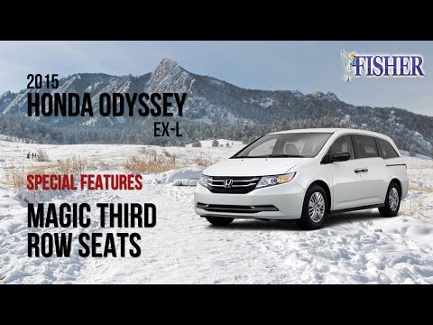 2015 Honda Odyssey Top Feature: Third Row Magic Seat