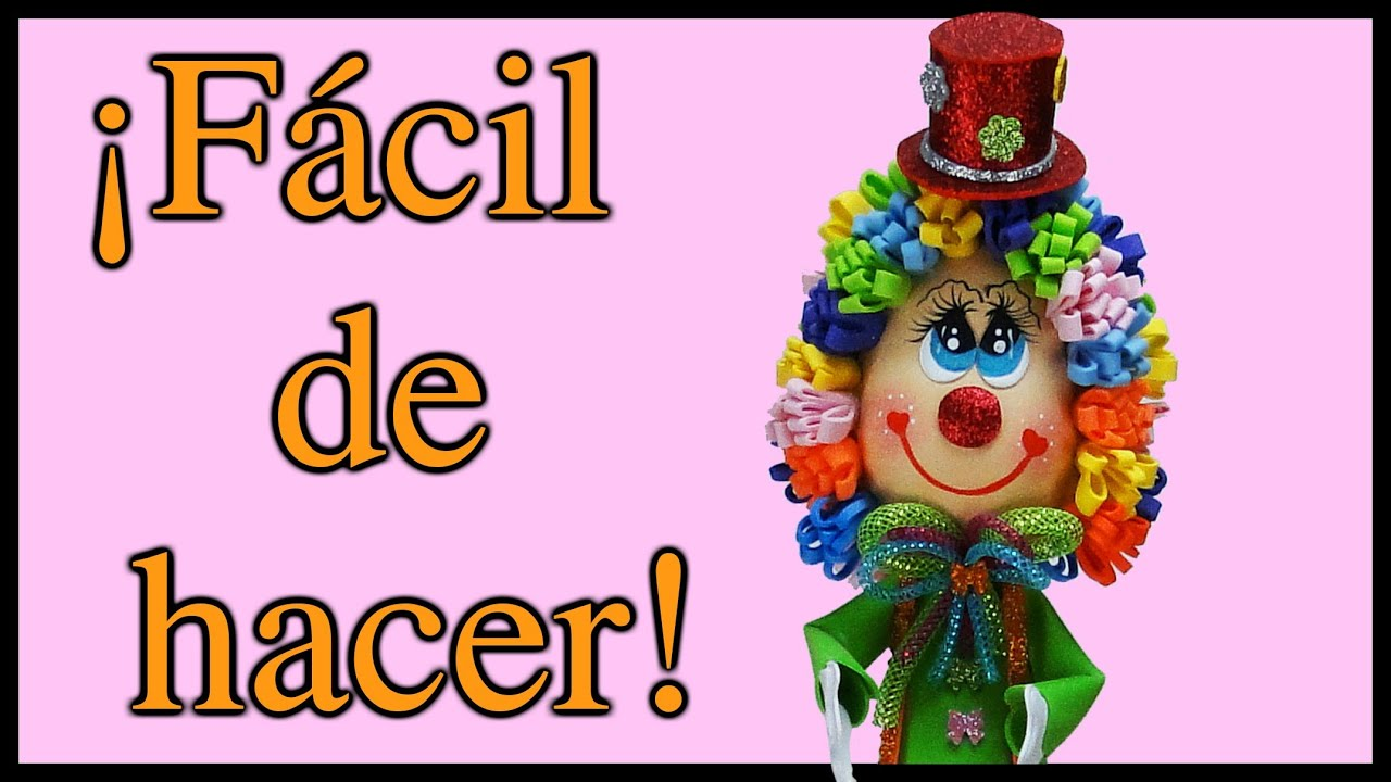 PAYASO DULCERO! Recuerdo para Eventos Especiales - YouTube