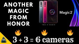 3 + 3 = 6 Cameras. honor magic 2 quick view | Techie Dude