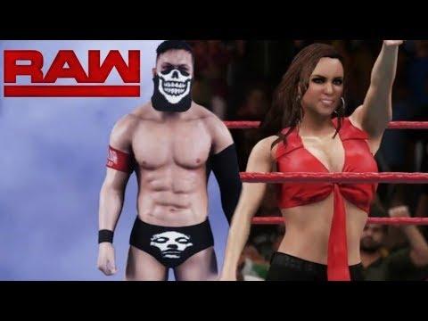 WWE 2K18 Custom Story #1 - Finn Balor : Stephaine Mchanon Finn's Just To Small