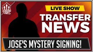 MOURINHO Mystery BRAZILIAN Transfer! Man Utd Transfer News