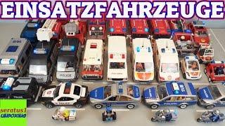 Playmobil Einsatzfahrzeuge Mega Sammlung Feuerwehr Polizei seratus1