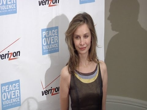 Calista Flockhart 41st Annual Peace Over Violence Humanitarian Awards ARRIVALS
