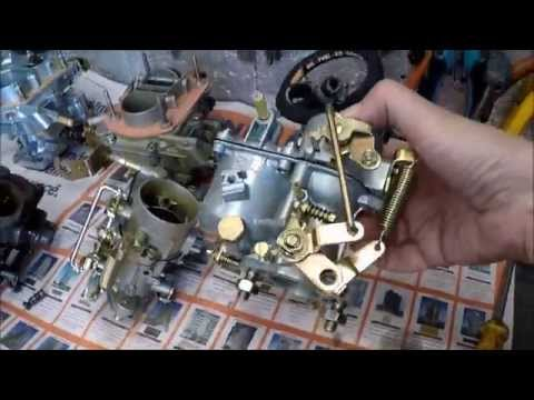 Saura - Fusca 1300L troca carburador H30 PIC AJ Carburadores