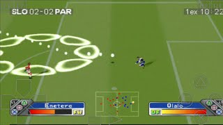 SLOVENIA vs PARAGUAY - Super Shot Soccer - ePSXe Android Gameplay