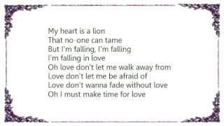 Warlock - Make Time for Love Lyrics